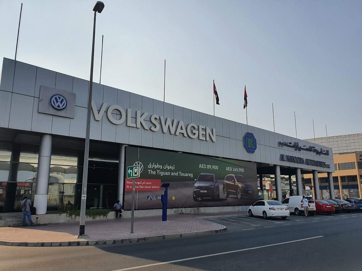 Volkswagen Showroom, Dubai – Al Na